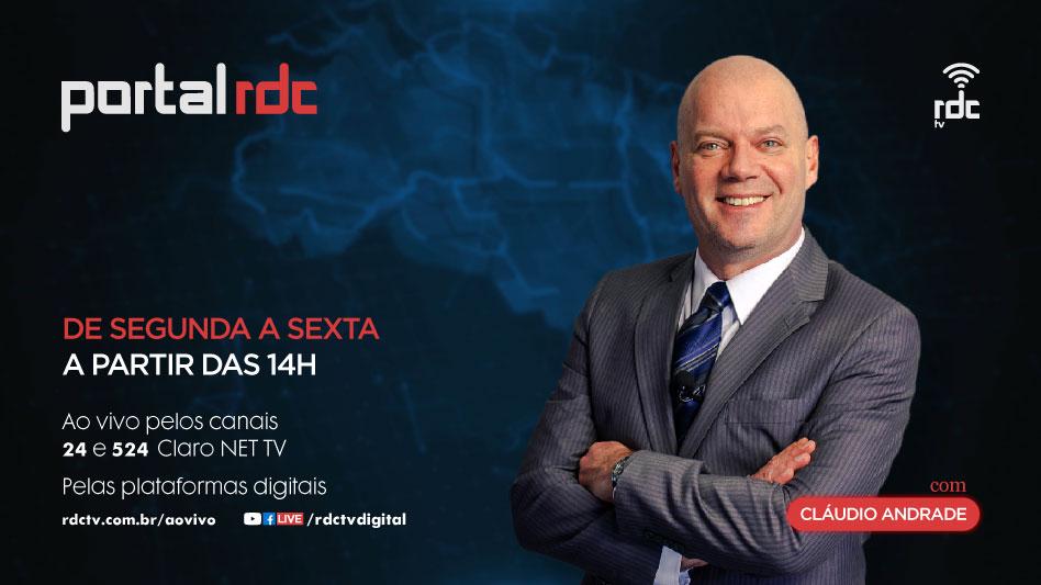 Portal RDC com Cláudio Andrade