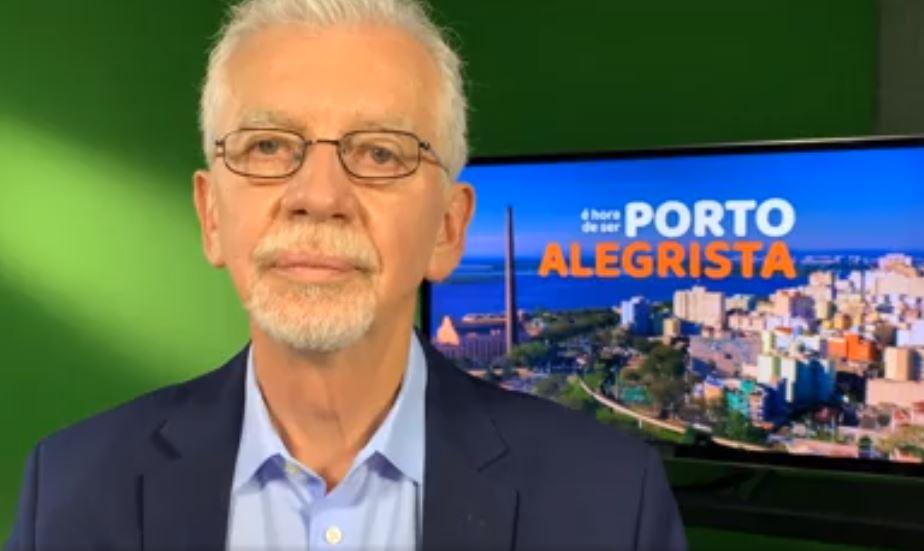 Após abrir mão da candidatura, José Fortunati confirma apoio a Sebastião Melo