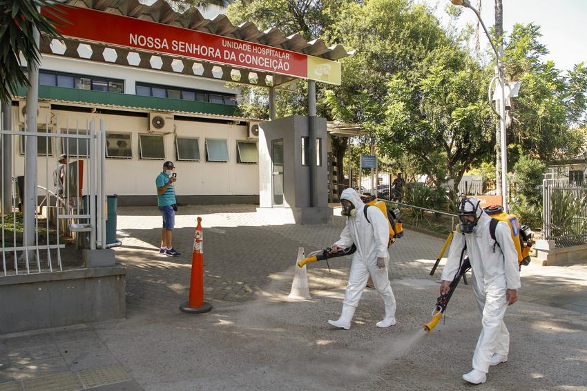 Hospital Conceição confirma fim do surto de Covid-19